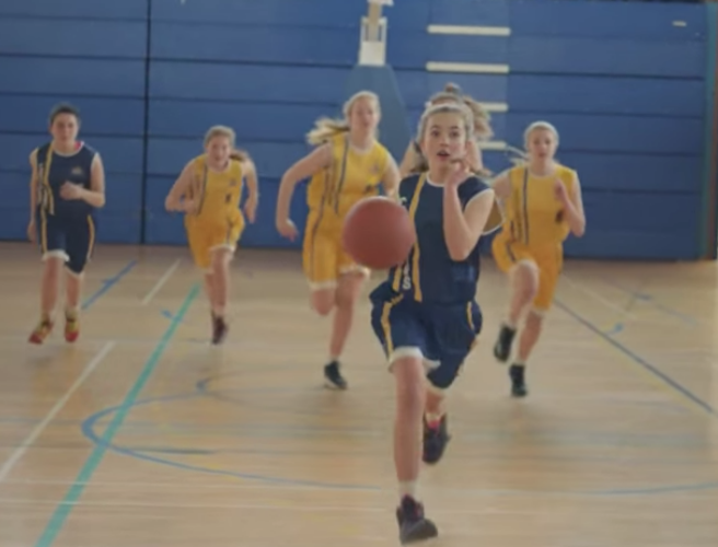 WATCH: 'Like A Girl' encourages young female athletes not to give up on the sports they love