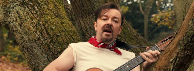 David Brent, Life on the Road, Lady Gypsy, Ricky Gervais