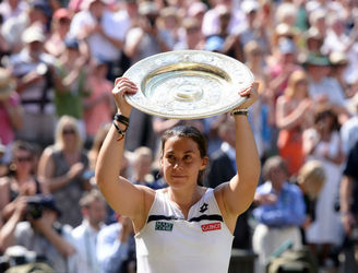 "WATCH: ""She's almost unrecognisable"" - Virus causes Marion Bartoli to withdraw from Wimbledon invitational event"