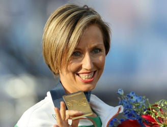 GALLERY: Olive Loughnane finally gets her World Championship gold medal seven years on