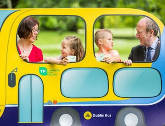 Children will be able to travel on public transport for free for two weeks this summer