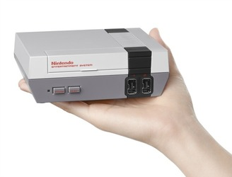 Blast from the past as Nintendo re-releases classic NES console