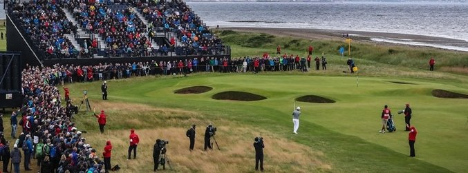 The Open, Day Three, Royal Troon