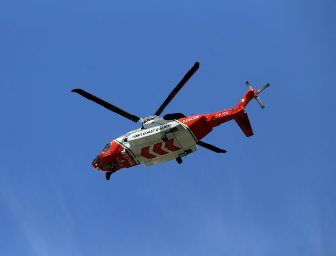 Coast guard search for car seen entering River Lee