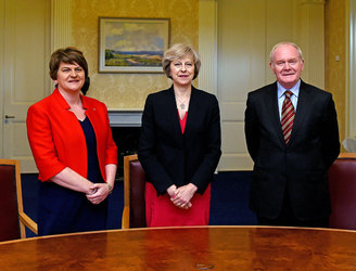 Border between Ireland and UK should change as little as possible - Theresa May