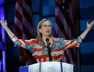 WATCH: Meryl Streep gives impassioned speech for Hillary Clinton
