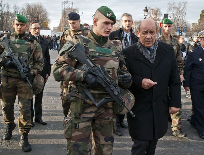 France, military, troops, increase, police officers, military, reservists, attacks, Jean-Yves Le Drian, Bernard Cazeneuve, Normondy,