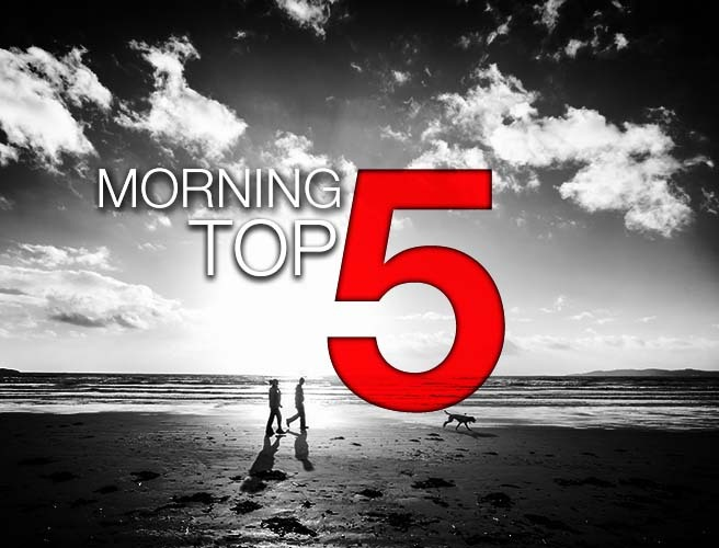 Morning top 5: Syria humanitarian relief; hot air balloon investigations; and Croagh Patrick pilgrimage