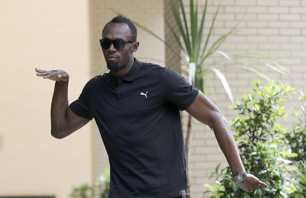 Usain Bolt Does His Last Olympic Press Conference in Style 31