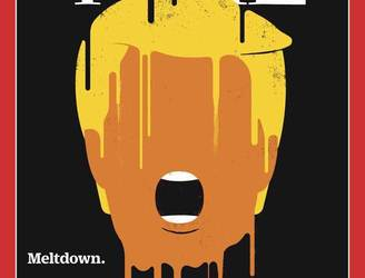 Time magazine looks at the 'meltdown' of Donald Trump
