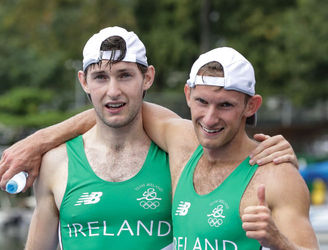"""Delighted!"" Ireland's O'Donovan brothers celebrate their Rio 2016 silver medal success"