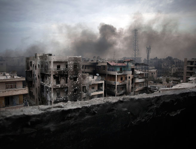Syrian rebels launch onslaught to break siege in beleaguered Aleppo