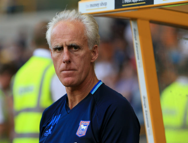 Mick McCarthy, Ipswich Town,