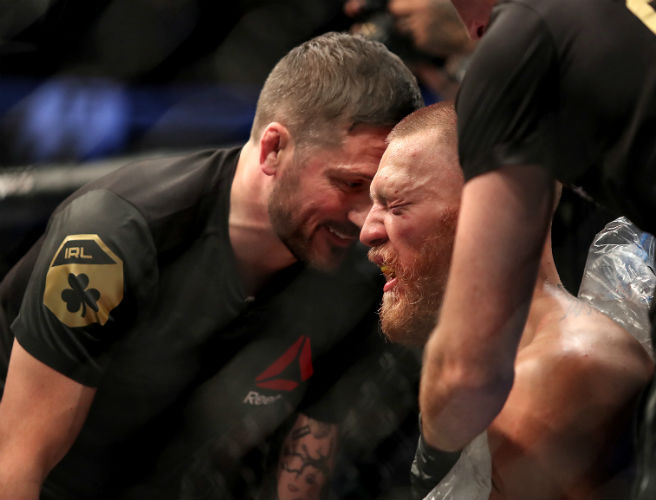 John Kavanagh states that Conor McGegor's injury won't keep him out for long
