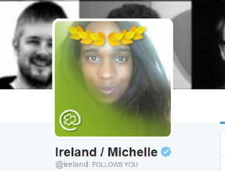 "Black woman subjected to ""constant barrage of hate"" while tweeting from '@ireland' account"
