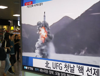 North Korea reportedly fires submarine-launched missile