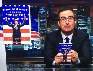 John Oliver does an Oprah by turning forgotten children's book into overnight bestseller