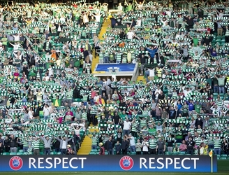 WATCH: Palestinian refugees thank Celtic fans for donations