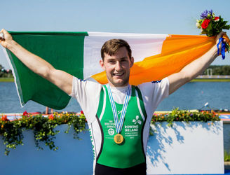 Paul O'Donovan won gold by keeping a pre-race promise in the process
