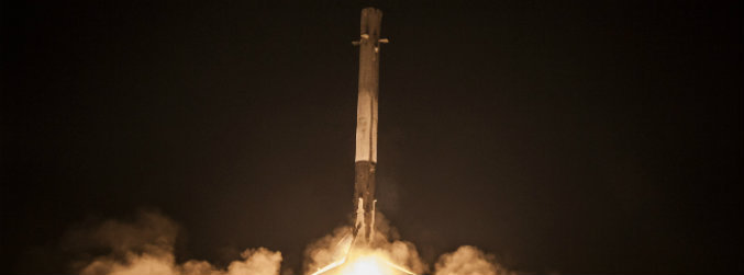 Satellite company announces plan to use 'second-hand' SpaceX rocket