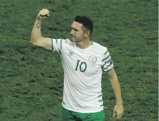 PIC: LA Galaxy pay wonderful tribute to Robbie Keane on the day of his final appearance for Ireland