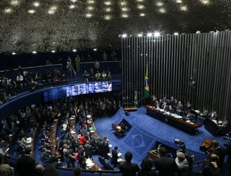 Brazilian senators vote to impeach president Dilma Rousseff