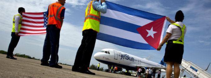 Commercial flights between US and Cuba resume after more than 50 years