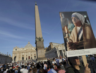 Mother Teresa declared a saint during ceremony in Vatican