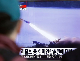 North Korea fires three ballistic missiles into sea, South Korea claims