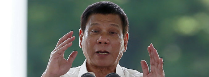 Philippines leader expresses regret over 'son of a whore' remark about Barack Obama