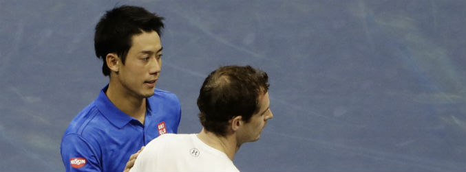 US Open: Kei Nishikori stuns Andy Murray in five-set epic
