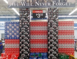 US supermarket removes Coca-Cola display depicting the World Trade Centre