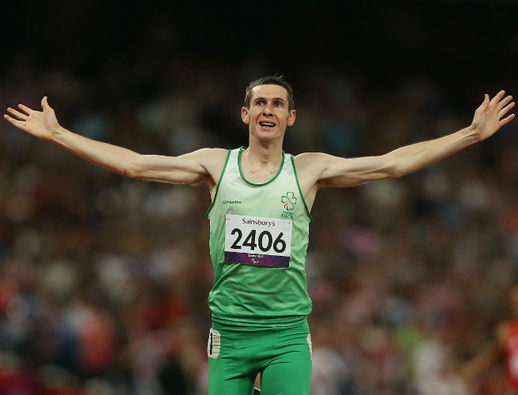Medals and not records are on Michael McKillop's agenda