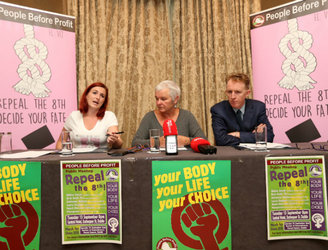 People Before Profit launch campaign calling for repeal of 8th Amendment