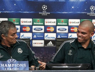 Pepe is thankful that Mourinho's Real Madrid tenure did not last long