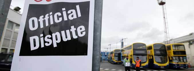 "Union claims Department of Transport ""gone into hiding"" over Dublin Bus strike"