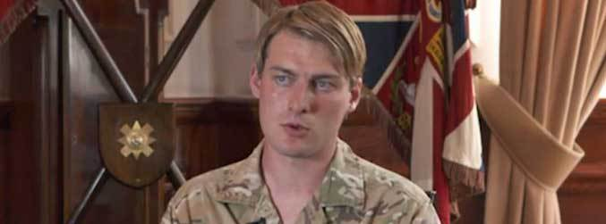 Transgender soldier becomes first woman on frontline of the British Army