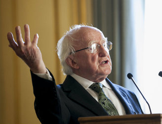 "President Higgins suggests Europe is ""ditching some of its better achievements"""