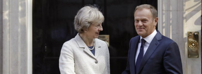 Downing Street downplays Donald Tusk's claim that UK will trigger Article 50 in January