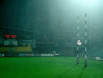 Thunderstorms see Connacht's game at Zebre called off shortly after half-time