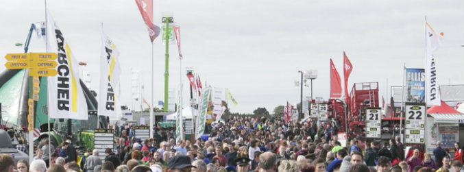 Huge crowds attend first day of National Ploughing Championships in Co Offaly