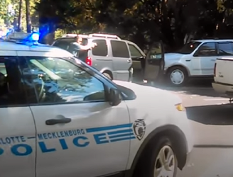 WATCH: Wife filmed Charlotte police officers shoot dead Keith Lamont Scott