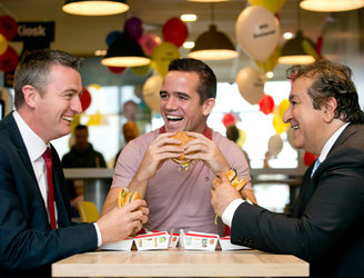 McDonald's marks 5,000 employees in Ireland
