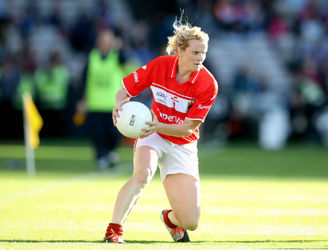 Briege Corkery's half-time speech was one for the ages in the All-Ireland final