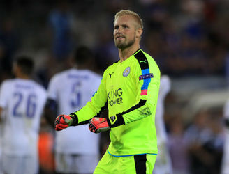 Leicester City goalkeeper Kasper Schmeichel in line for Champions League return