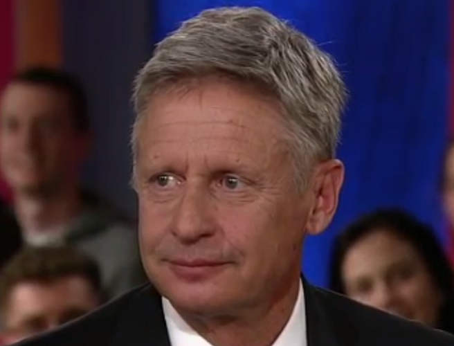 Gary Johnson has another 'Aleppo moment' as he struggles to name foreign leaders