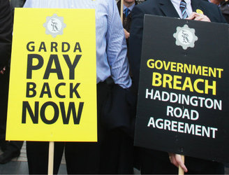 What will happen if the planned 'Garda strikes' go ahead?