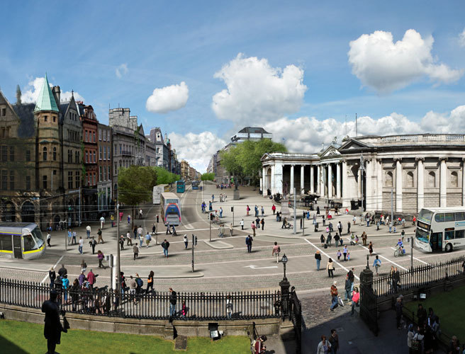 Dublin City Council to review city centre traffic layout