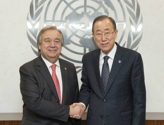 President Higgins welcomes recommendation of Antonio Guterres for next UN secretary general