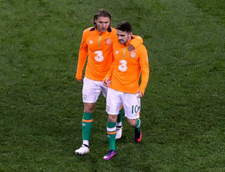 Robbie Brady ruled out of Moldova clash as suspended Jeff Hendrick travels with the team